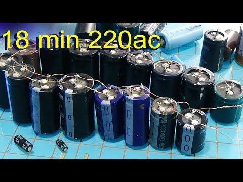 Free Energy How To Make Capacitor Bank For Free Energy Lighted The Led Youtube Free Energy Free Energy Projects Capacitor