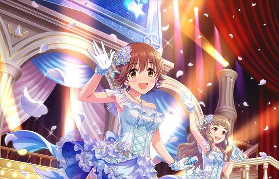 本田未央ステージ上で手を振る可愛い画像