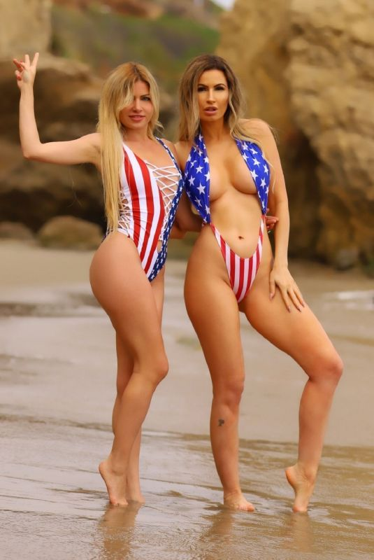 Ana Braga On The Beach In Malibu Ana Braga On The Beach In
