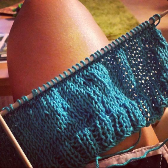 Kit para tejer - Sea Top #entrefilsimadeixes