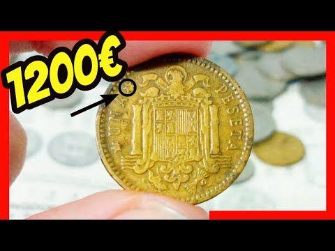 1200 Vale Una Peseta De Franco Monedas Españolas Valiosas 1 Emdlm Youtube Monedas De Euro Coleccionar Monedas Monedas Viejas
