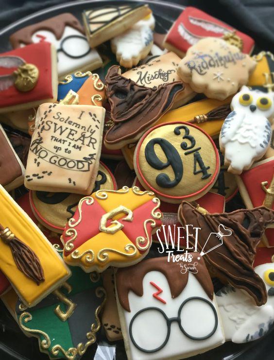 Harry Potter Cookies #harrypotter