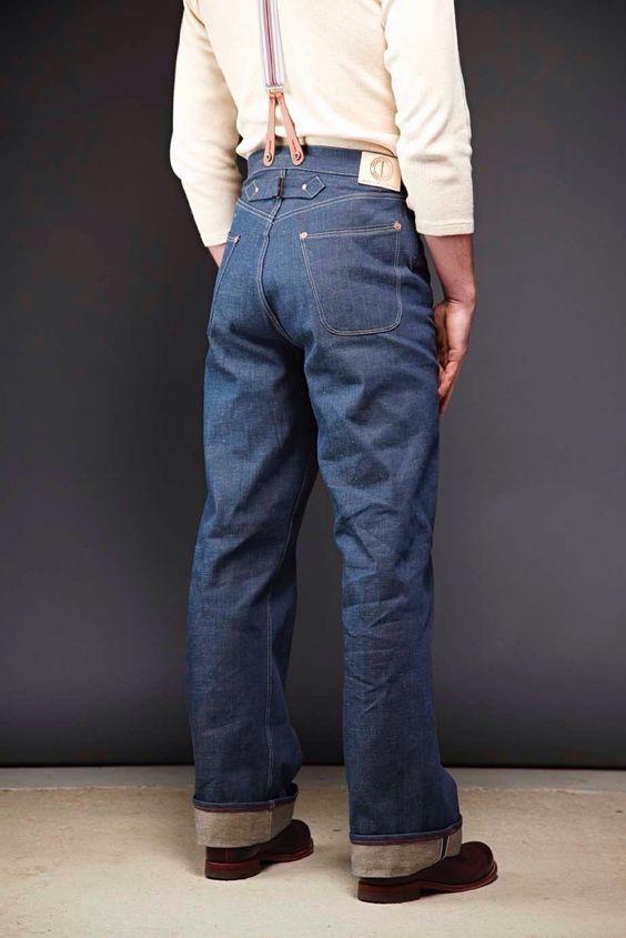 Mens Wide Leg Jeans - Xtellar Jeans