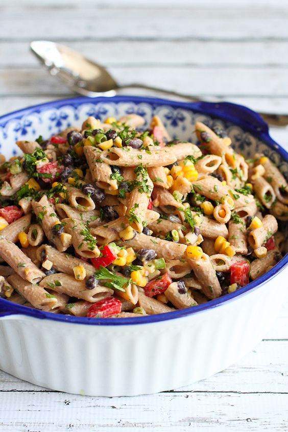 Whole Wheat Greek Pasta Salad
