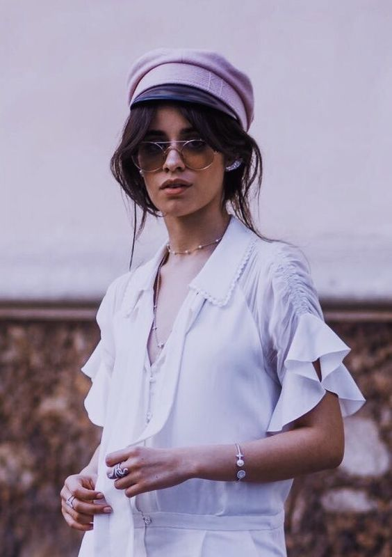 Camila Cabello in Paris, France. 2017