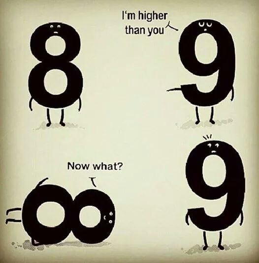I'm higher than you...  | matematicascercanas: