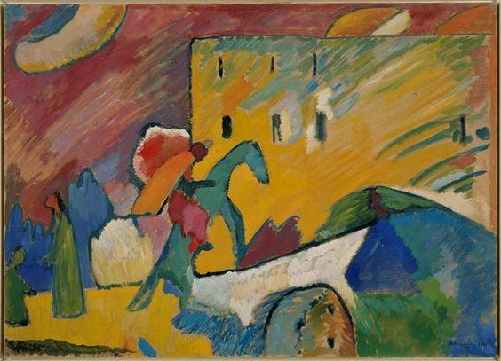 óleo sobre lienzo de Wassily Kandinsky (1866-1944, Russia)