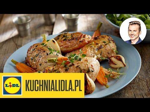 Pieczony Kurczak Z Ziolami Prowansalskimi I Cytryna Karol Okrasa Przepisy Kuchni Lidla Youtube Food Chicken Turkey