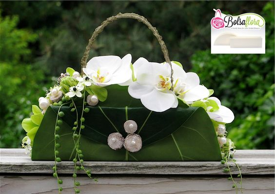 "Created with Bolsa Flora V A NEW Bolsa Flora base for your ""Pochette purse"""