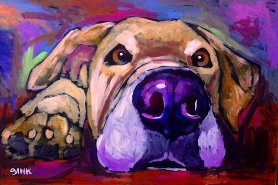 Brian Sink – Dog Art!