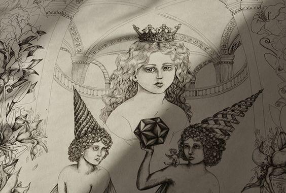 Mournful Chronicles» and the «Consonance» by D.S. on Behance | Illustration | Ilustração | Desenho | Diseño | Drawing | Draw | Pen | Pencil | Handmade | Hand | Dark | Evil |