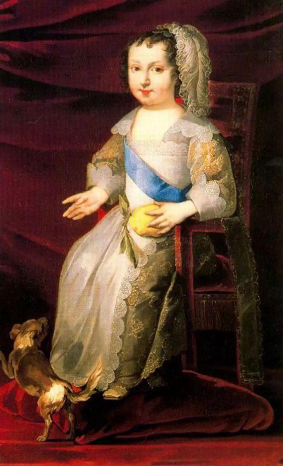Philippe de France, Monsieur, duc d'Orléans, enfant, par Deruet