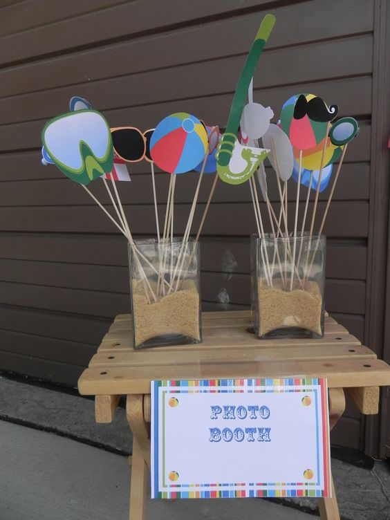 Easy ideas for a splash tastic summer party outdoor for Garden pool party ideas
