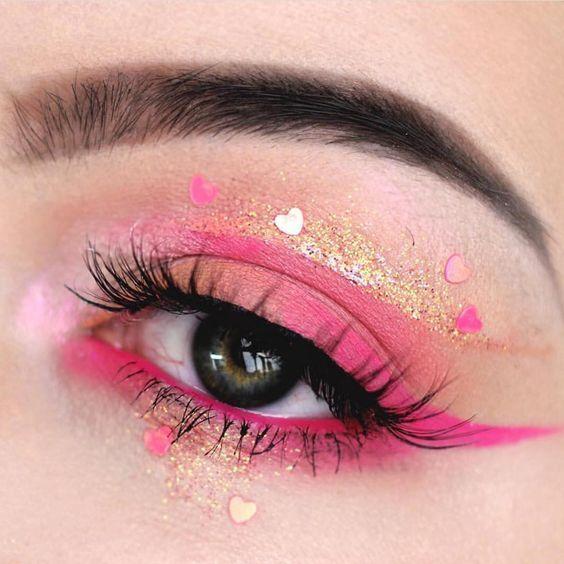 Simple Glitter Unicorn Eye Makeup Artistry Makeup Dramatic Eye