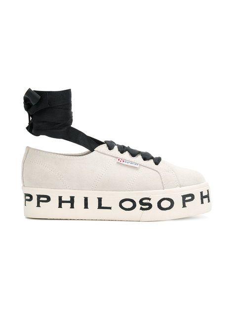 Shop Serafini Philosophy Superga Sneakers Di X Lorenzo 8vOywNmn0