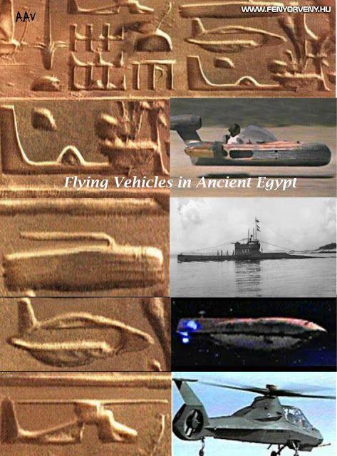 Hasonlóságok: Ősi repülőszerkezetek (2.) ~ Fényörvény