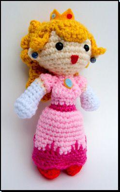 Amigurumi Patterns Nintendo : amigurumi princess peach Crochet Nintendo Pinterest ...