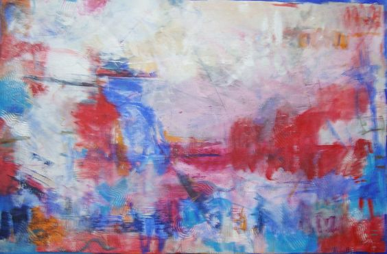 """Bom dia Copacabana"" acrylic/canvas        115x175 cm"