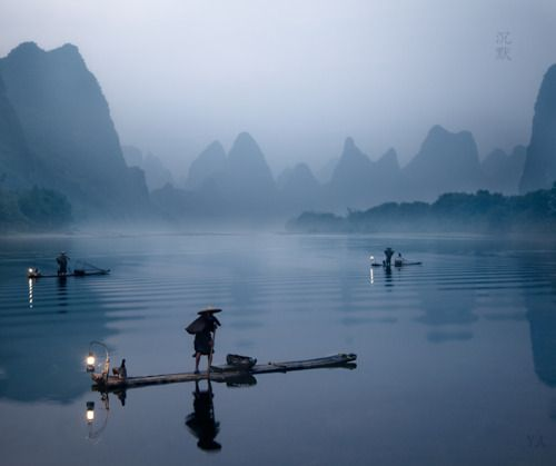 ha long lanterns: Places To Visit, Fishing Yangshuo, Favorite Places Spaces, Cool Pictures, Beautiful Places, Gorgeous China