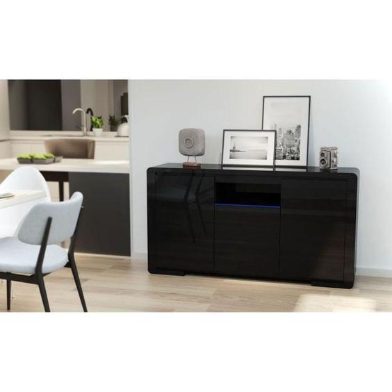 169.99 € ❤ Promo #Meubles - BELLAGIO #Buffet muni de 3 portes + 1 étagère en verre trempé avec éclairage #LED 149 cm - Noir laqué ➡ https://ad.zanox.com/ppc/?28290640C84663587&ulp=[[http://www.cdiscount.com/maison/meubles-mobilier/bellagio-buffet-avec-eclairage-led-149-cm-noir-laq/f-117600902-bellagiono.html?refer=zanoxpb&cid=affil&cm_mmc=zanoxpb-_-userid]]