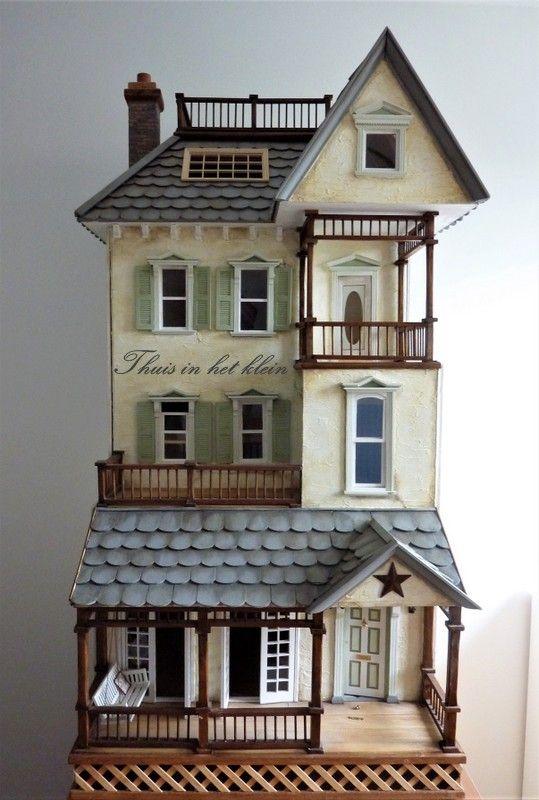 Marijke's thuis-in-het-klein!: Long time no see, maar we gaan verder aan het Marmod huis...