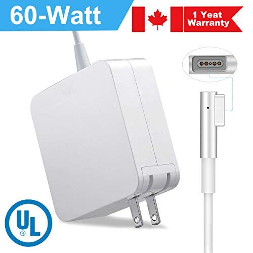 Macbook Pro Charger 60w Replacement 2013 13 Inch 16 5v 3 65a Laptop Magnetic Charger Magsafe 2 Power Adapter For Mac B Magsafe Magnetic Charger Power Adapter