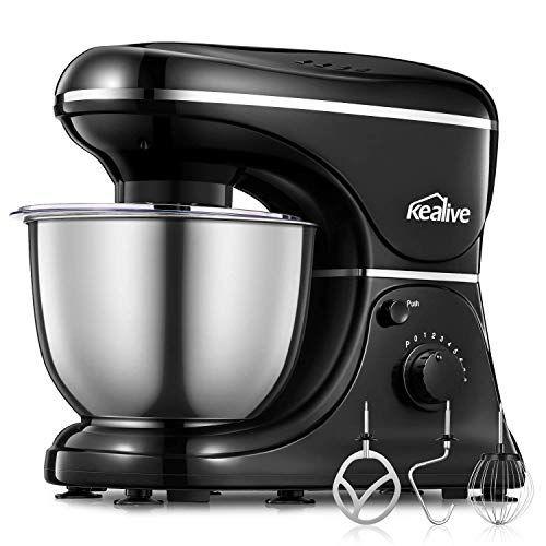 Kealive Stand Mixer 8 Speed 700 Watt Kithchen Mixer With Https Www Amazon Com Dp B07dnzmd1v Ref Cm Sw R Pi Dp U Kitchen Mixer Mixer Stainless Steel Bowl
