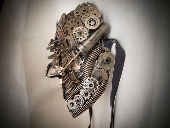 Dmytriy and Aleksandra Bragin Kharkiv, Ukraine  - http://steamp.co/d/892   #steampunk