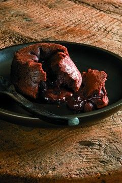 Coulants à la truffe noire