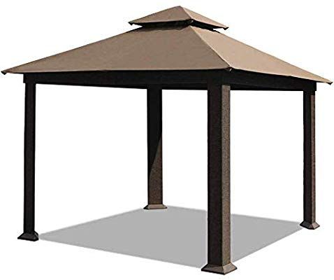 Amazon Com Eliteshade 12x12 Feet Sunbrella Titan Outdoor Garden Backyard Gazebo Sunbrella Cocoa Garden Backyard Gazebo Gazebo Rectangular Patio Umbrella