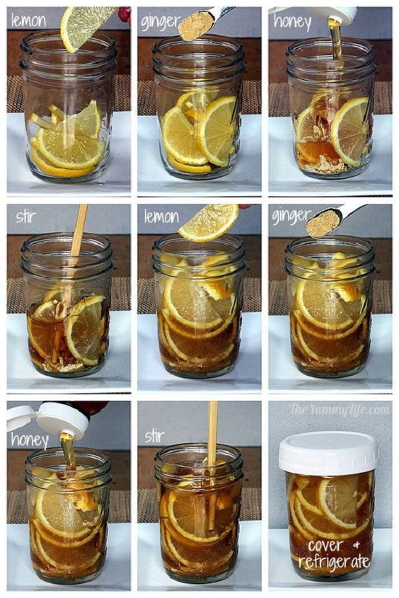 Honey Citrus Syrups | Recipe | To be, Homemade and Sore throat