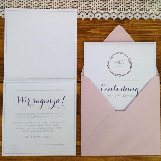 """Ich zaubere euch mal etwas Sommer herbei - mit meinem Papeterie-Set """"Lavendel"""" ♡ #ohkonfetti #hochzeit2016 #wedding #braut2016 #hochzeitspapeterie #hochzeitseinladung #savethedate #menükarte #tischordnung #weddinginvitation #weddingstationery #stationery #papeterie #typo #typografie #lavendel #lavender #lila #rosa #spitze"""