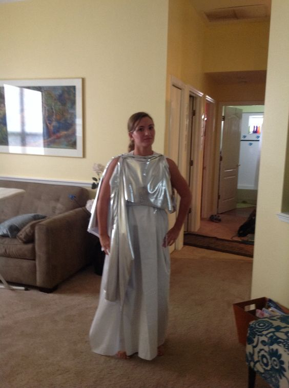 DIY costume of Greek goddess Selene | Greek costumes ...