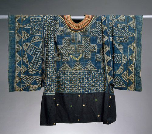 Suchasensualdestroyer Unknown Group Grassfields Cameroon Formal Shirt Wool Cotton C Late 19th C Afrikanskij Tekstil Modnye Stili Poshiv Modnoj Odezhdy