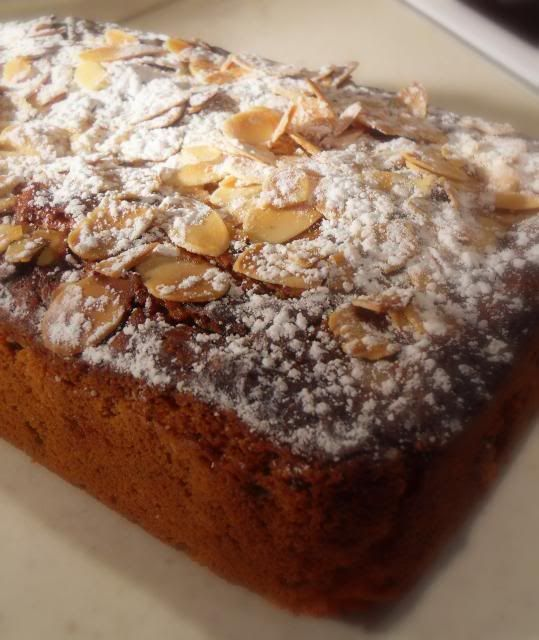 The English Kitchen: Mincemeat and Marzipan Teabread