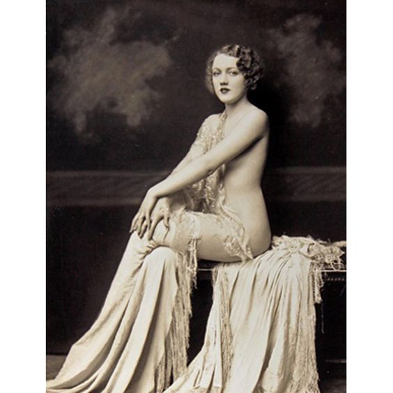 Vintage silver print. A rich image. From the estate of Alfred Cheney Johnston. Stamped and inscribed on reverse.  Dorothy Graves