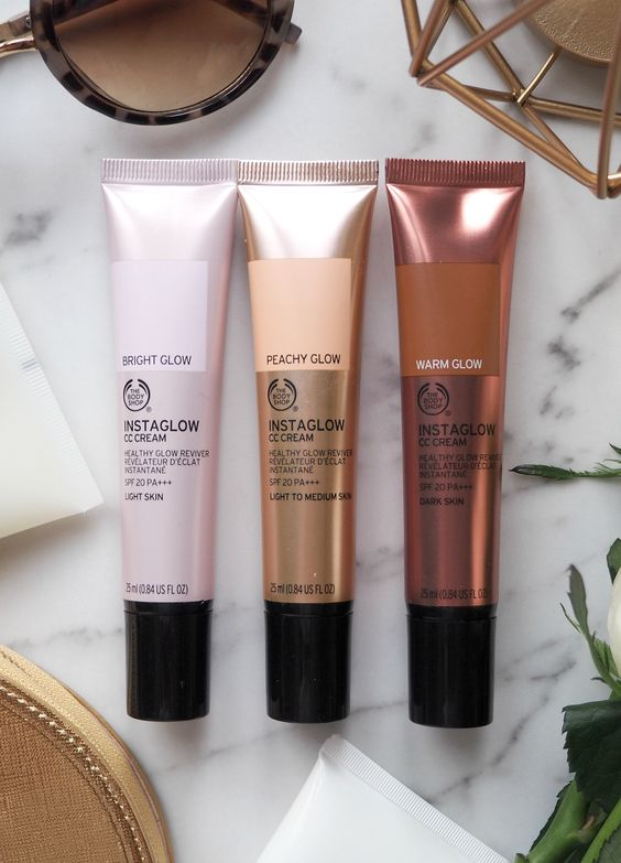 London Beauty Queen: The Body Shop Instaglow CC Creams: Interesting Concept, Questionable Delivery