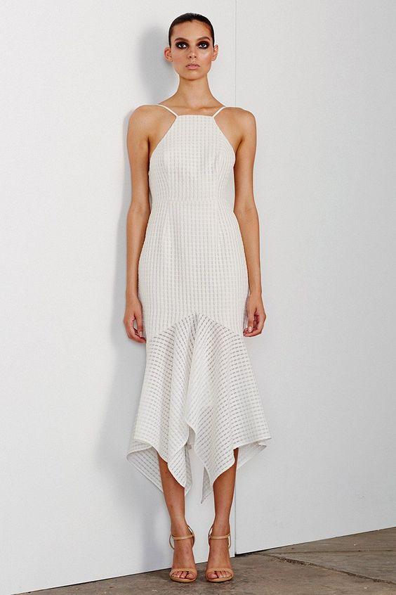 Shona Joy - Lucia Lace Up Cocktail Dress