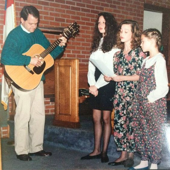 #tbt to when me, @iamcatdog and @peachlou sang at @ebadham 's wedding with @jfieldingp on guitar