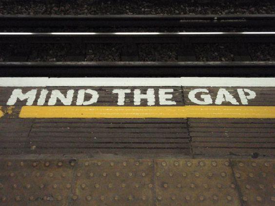 London Tube - Mind the Gap