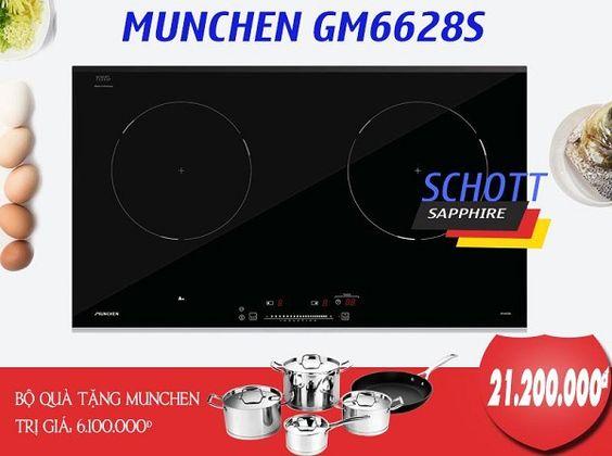 Mua bếp từ Munchen GM 6628S người dùng được những gì?