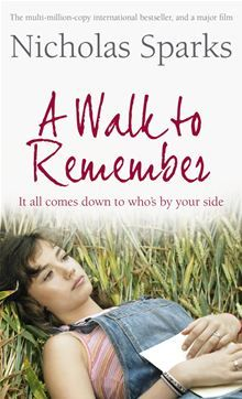 The last person Landon thought he would fall for was Jamie Sullivan, daughter of the town's Baptist minister. A quiet girl, Jamie seemed content living in a world apart from the other teens. She took care of her widowed father, rescued hurt animals and volunteered at the local orphanage. Landon would never have dreamed of asking her out, but a twist of fate threw them together when he found himself without a partner for the school dance. ...