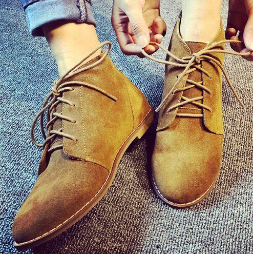 Ucuz Siyah kahverengi süet sivri burun dikiş ile vintage dantel kadar ayak bileği çizmeler hakiki deri siyah kahverengi kürk astarlı ayakkabı kadın moda, Satın Kalite bayan botları doğrudan Çin Tedarikçilerden: üst malzemesi: süetAstar malzemesi: kumaşGünümüzde, çok fazla var ayakkabı markası, ve çok fazla çeviri fark ülke için b