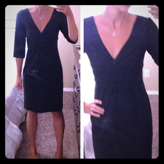 ABS black dress Perfect for work or an interview! In perfect condition and flattering fit. Back zipper. bundles. ABS Allen Schwartz Dresses