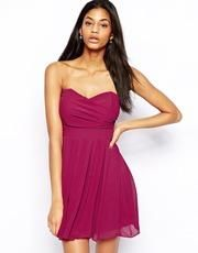 ASOS | ASOS Wrap Front Mini Dress at ASOS