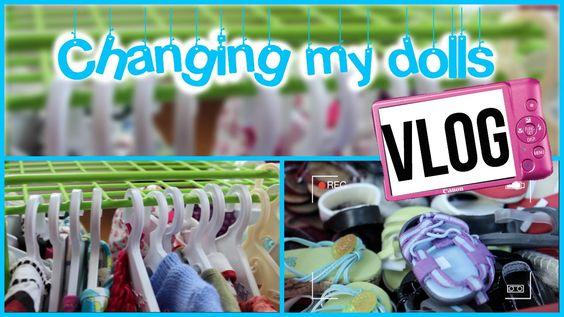 American Girl Dolll VLOG: Changing my dolls