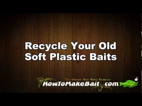 soft plastic baits - recycle your old, tore up soft plastic baits, Soft Baits