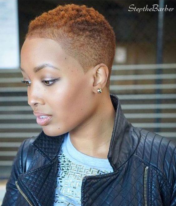 Inspiring 12 Short Natural African American Hairstyles Short