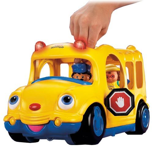 Little People School Bus by Fisher-Price   Toys from Baby Babble 2 ...