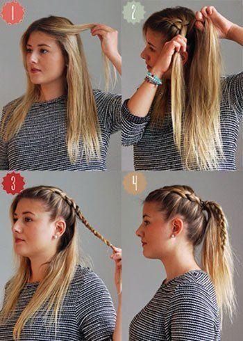 Zopf Frisuren Einfach Selber Machen In 2021 Zopffrisuren Geflochtene Frisuren Frisuren